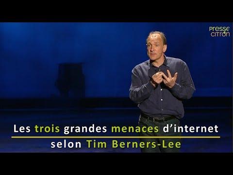 TOP 3 des menaces du Web selon son inventeur, Tim Berners-Lee