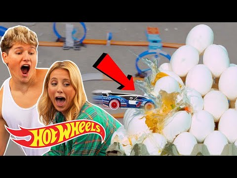 FOOD FIGHT DUNK CHALLENGE WITH GIANT BOOSTERS!!!