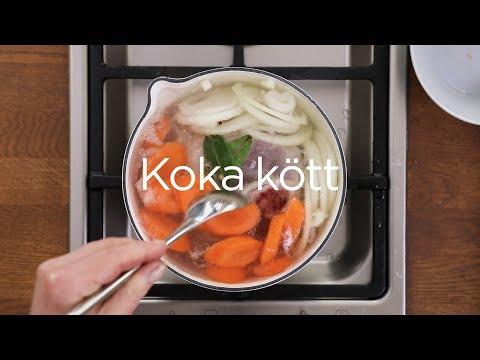 Så kokar du kött