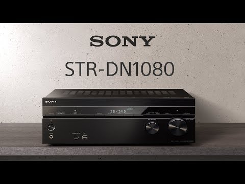 Sony STR-DN1080 7 2 Channel Home Theatre AV Receiver