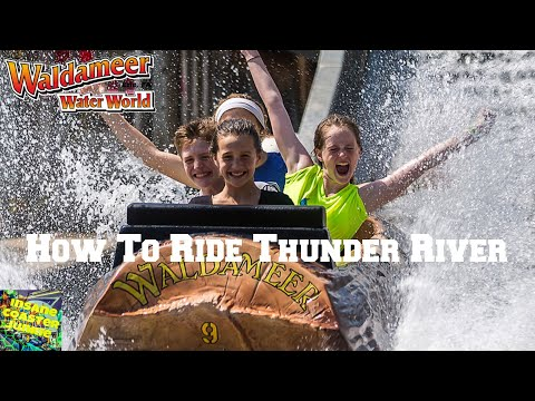 How To Ride Thunder River At Waldameer Park