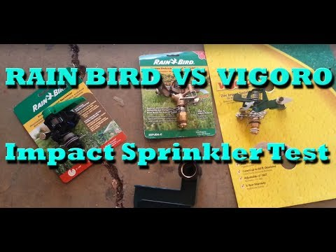 Impact Sprinkler Test - Vigoro Vs Rain Bird - UCyYfNzxSeoSrL_4BSCCLG0w
