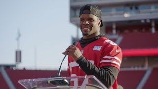 Dre Greenlaw Gives Commencement Speech to Foster Youth