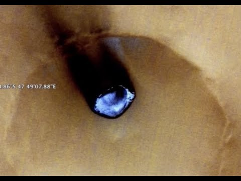 Breaking Strange UFO Crash Sight Google Mars Finds (Demons)