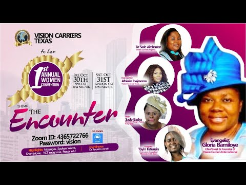 VISION CARRIERS TEXAS 1ST ANNUAL WOMEN CONVENTION
