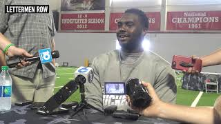 Nick Petit Frere: Ohio State offensive lineman talks Buckeyes 2019 fall camp