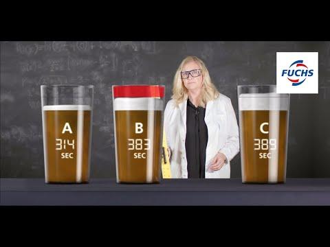 Vi testar hur smörjmedel påverkar höjden på ölskummet