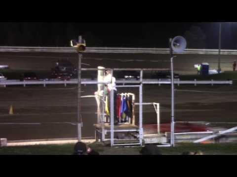 Hummingbird Speedway (8-5-17): Street Stock Feature - dirt track racing video image