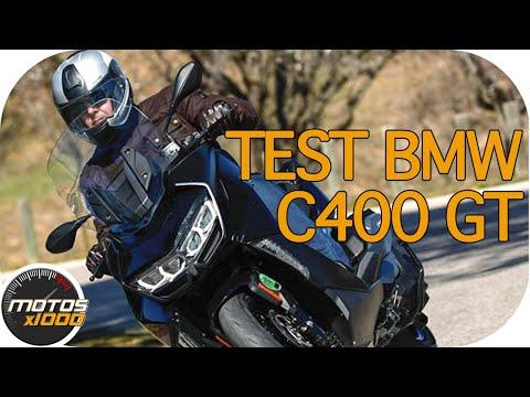 Toma de contacto con el BMW C400GT