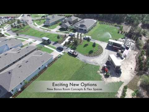 Victoria Park New Home Model Center Aerial Preview