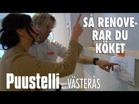 KÖK | Så renoverar du köket | Puustelli Västerås