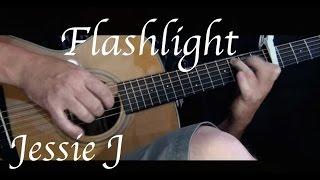 Jessie J - Flashlight - Fingerstyle Guitar - KellyValleau