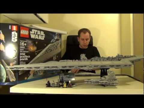 Lego Star Wars UCS Super Star Destroyer 10221 Toy Review Video - UCXAHpX2xDhmjqtA-ANgsGmw