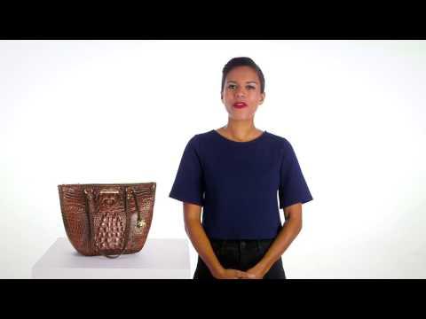 Brahmin Small Willa Tote Video