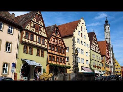 Rothenburg ob der Tauber, Germany in 4K Ultra HD