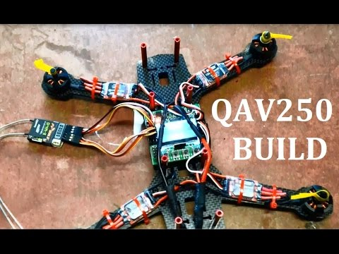 QAV250 FPV Quadcopter Build. Mystery 12A ESC EMax 1806 2280kv Motors KK2 - UCIJy-7eGNUaUZkByZF9w0ww