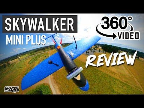 Skywalker Mini Plus Fpv Plane - 360º VIDEO & FULL REVIEW - LOVE IT! - UCwojJxGQ0SNeVV09mKlnonA