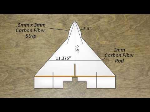 Çok basit ve çok çabuk bir RC uçak yapımı