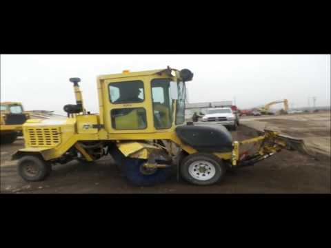 2007 Superior DT80 sweeper for sale | no-reserve Internet auction February 23, 2017