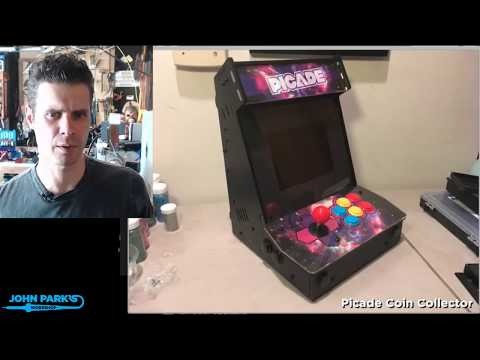 JOHN PARK'S WORKSHOP LIVE 1/5/18 Picade Coin Collector @adafruit @johnedgarpark #adafruit