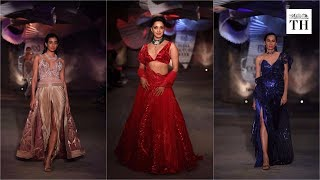 Kiara Advani in Amit Aggarwal's sustainable bridal wear at India Couture Week 2019