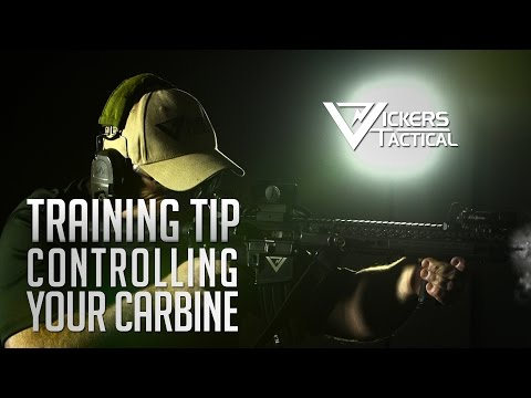 BCM Training Tip - Controlling Your Carbine