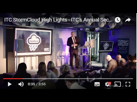 ITC StormCloud High Lights - ITC's Annual Security Conference at The Leadenhall Building