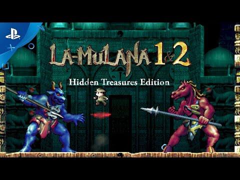 LA-MULANA 1 & 2 - Gameplay Trailer | PS4