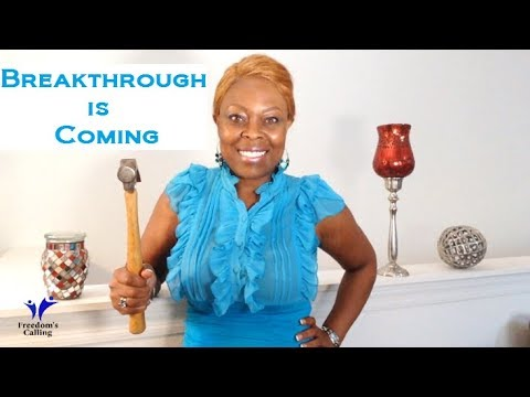 Wednesday Word - Financial Breakthrough is Coming