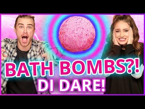 DIY BATH BOMBS?! Di Dare w/ Courtney Randall & James Boyd