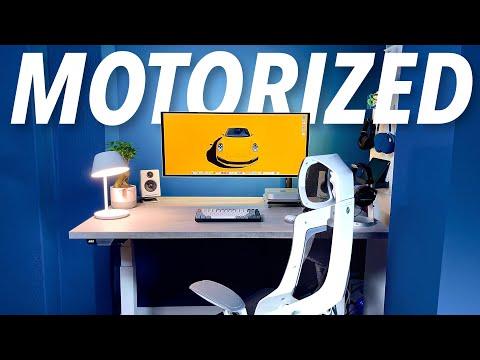 Scrivania MOTORIZZATA + Mac Mini M1 e si …