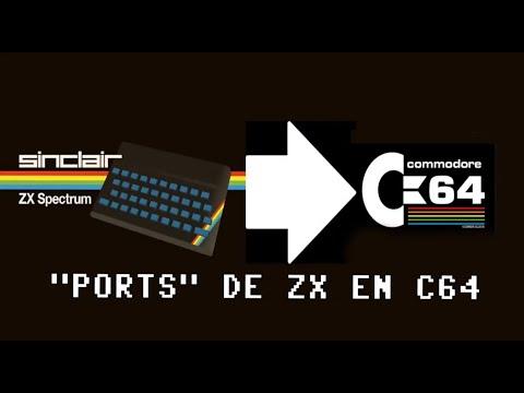 """Directitos de Mierda: """"Ports"""" de ZX en Commodore64 - c64 REAL 50hz (VI)"""