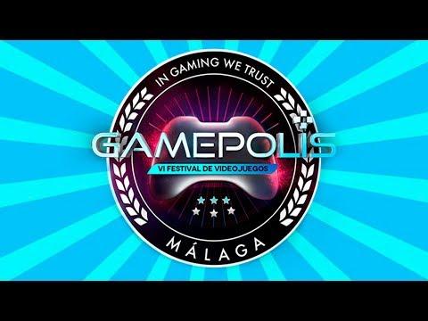 GAMEPOLIS 2018 STANDS, TORNEOS,ARCADES, INDIE...(VIERNES)