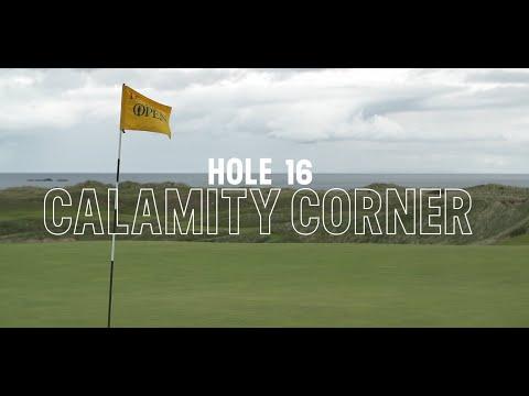 Royal Portrush Hole #16 earns its name Calamity Corner