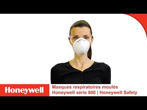 Masques respiratoires moulés Honeywell série 800   Honeywell Safety