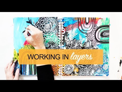 working in layers