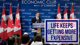 Life keeps getting more expensive | Andrew Scheer