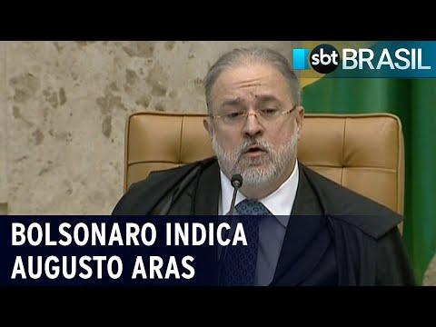 Bolsonaro indica Augusto Aras para novo mandato de 2 anos   SBT Brasil (20/07/21)