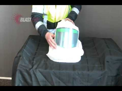 Full Head Protection When Spray Painting