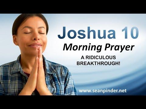 A RIDICULOUS BREAKTHROUGH - Morning Prayer