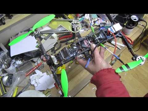 DIY carbon H-quad. Build overview #2 - UCtJVD1frXvaaW7IaKD4VGSA