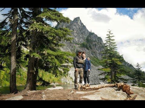 Backpacking Adventure to Lake Valhalla - (Bonus Puppy footage of Bernie)