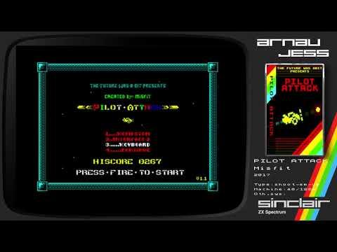 PILOT ATTACK Zx Spectrum by Misfit