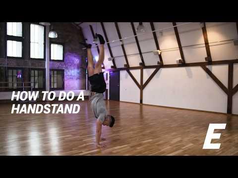 How to do a handstand - ELIXIA