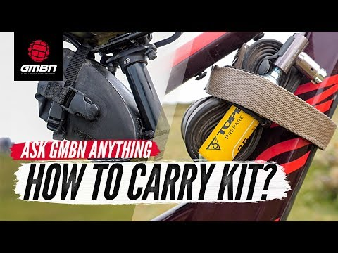 Should I Carry My Kit On My Bike Or In A Bag"