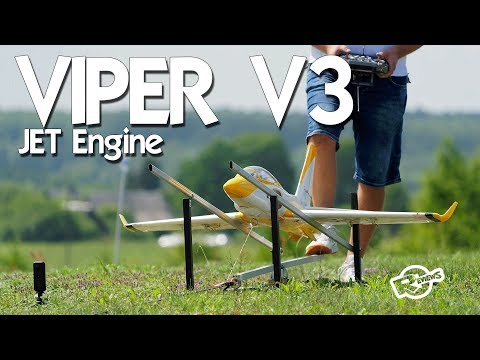 VIPER V3 Rc Airplane with JET engine - UCv2D074JIyQEXdjK17SmREQ