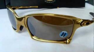 8ea84a0149 Oakley Limited Edition X Squared 24k Gold with Titanium Polarized Lens -  YouTube