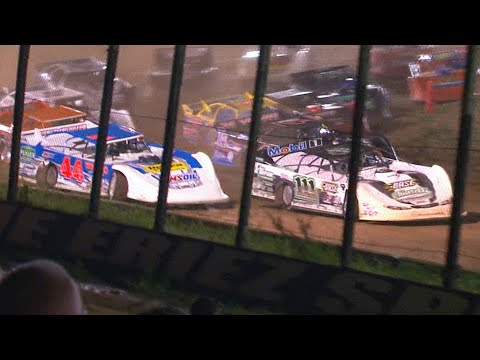 ULMS Super Late Model Feature | Eriez Speedway | Mike Farr Memorial | 7-4-21 - dirt track racing video image