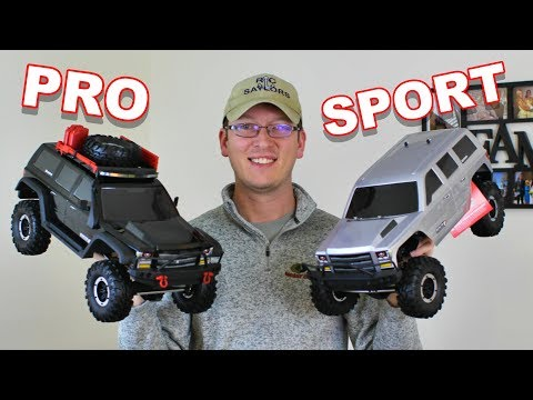 Redcat Racing Everest Gen7 Pro Vs SPORT At A Glance 1/10 4WD RTR Scale Rock Crawler - TheRcSaylors - UCYWhRC3xtD_acDIZdr53huA