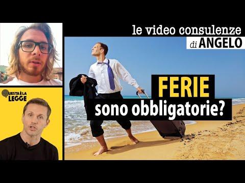 FERIE: sono obbligatorie? | avv. Angelo Greco